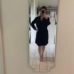 Black dress, casual